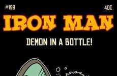 Retooned Comic Covers