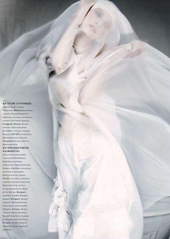 Tanya Dziahileva Harpers Bazaar Russia 5