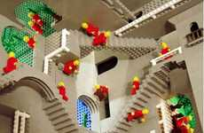 LEGO Escher Recreations