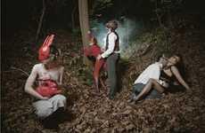 Erotic Forest Photoshoots