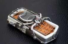 Steampunk Spider Phones