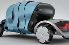 Sun-Powered Concept Cars