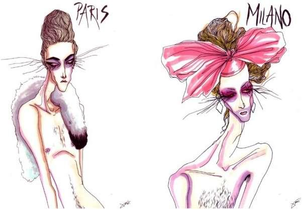 Freaky Fashion Scribblings