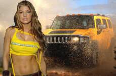 Fergie's Hummer On eBay
