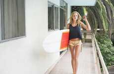 Stylish Surfer Chics