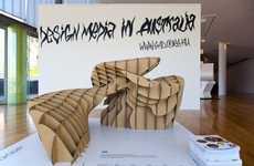 Abstract Cardboard Art