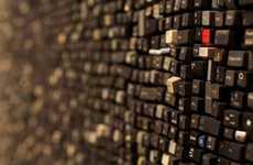 Keyboard-Covered Walls