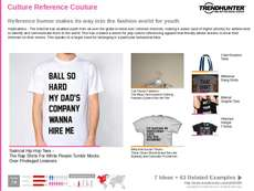 Pop Culture Apparel Trend Report Research Insight 1