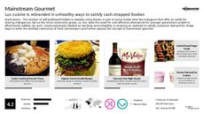 Gourmet Trend Report Research Insight 1