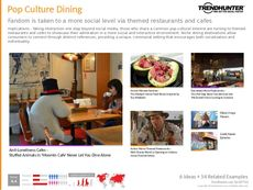 Pop Culture Dining Trend Report Research Insight 2
