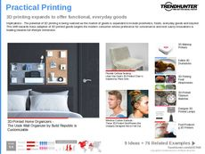 3D-Printed Decor Trend Report Research Insight 3