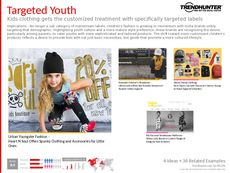 Kids Apparel Trend Report Research Insight 5