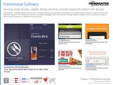 Communal Dining Trend Report Research Insight 5