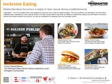 Cultured Dining Trend Report Research Insight 5