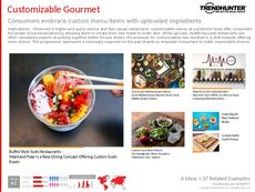 Gourmet Cuisine Trend Report Research Insight 8