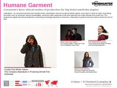 Luxury Outerwear Trend Report Research Insight 6