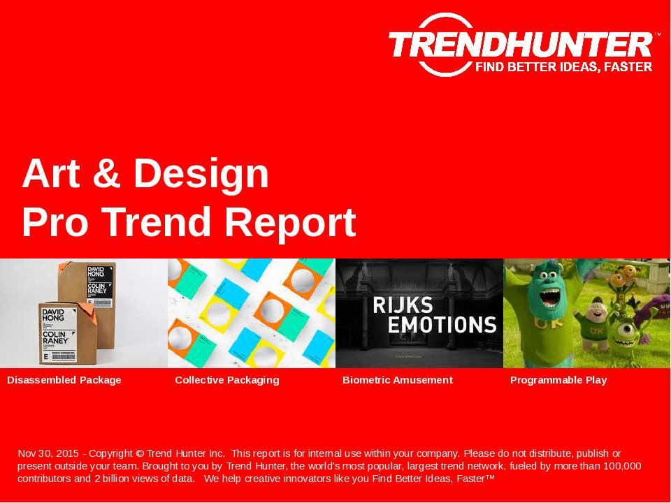 Art & Design Trend Report Research