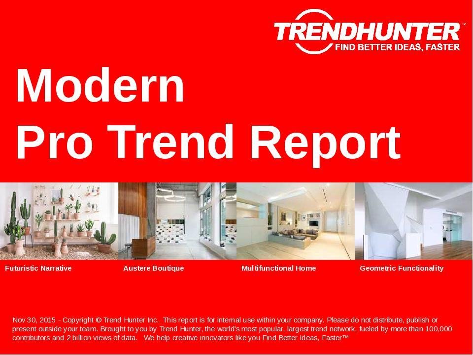 Modern Trend Report Research