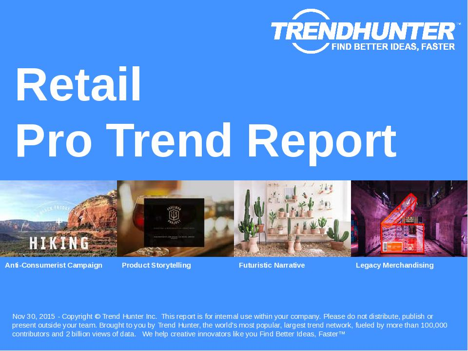 Retail Trend Report Research