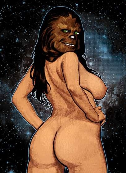 Voluptuous Wookie Pin-Ups