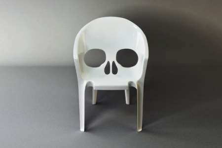 Stackable Skull-Shaped Seats