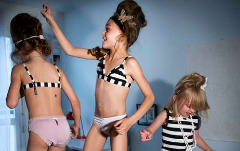 Controversial Child Lingerie