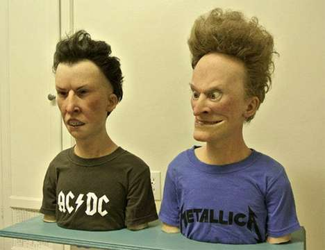 Ultra Realistic Beavis and Butthead! Almost Horrifying! Huh-Huh-Huh- Heh Heh.