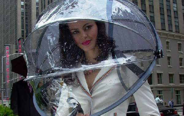 extreme climate inventions: nubrella, the ultimate weather protector