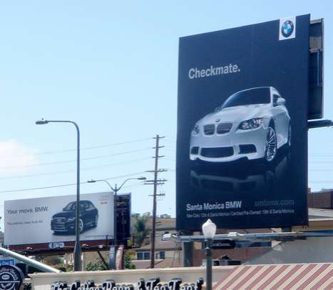 Automakers fight for sign-supremacy