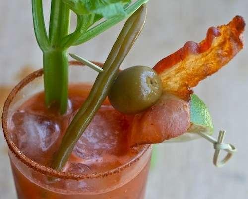 Spicy Swine Cocktails
