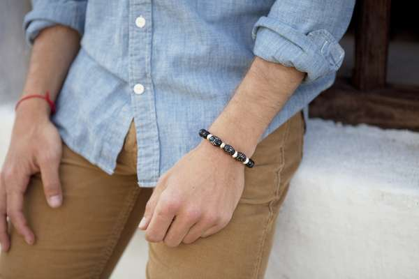 Burly Beaded Bracelets- The Adesso Men's Collection is Stylish Accessories for Men