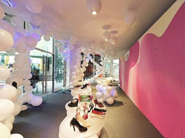 Sculptural Balloon Shops