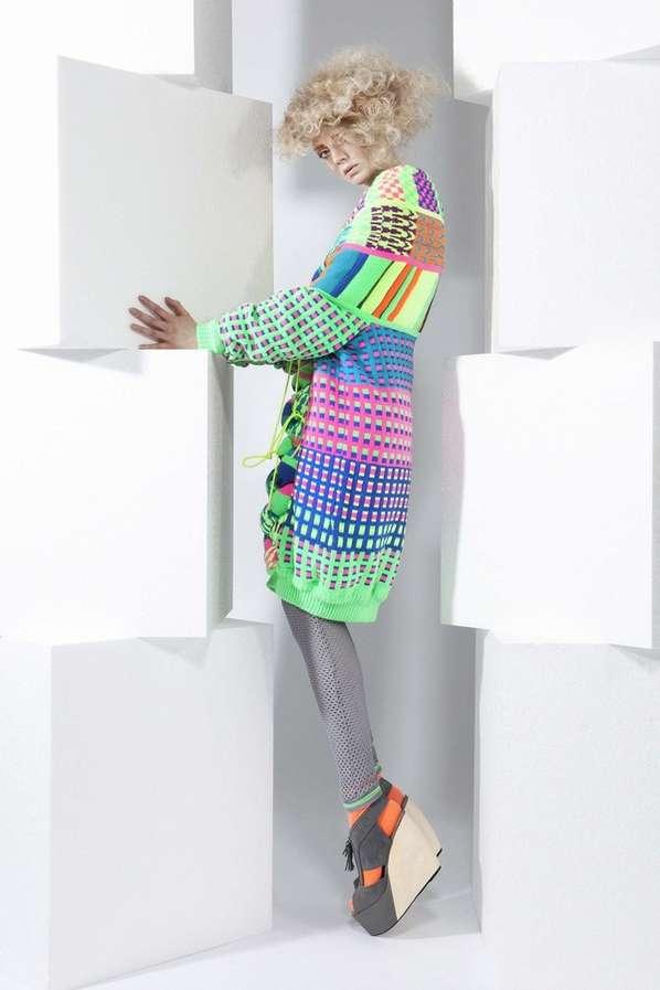 Kaleidoscopic Tourist Knitwear
