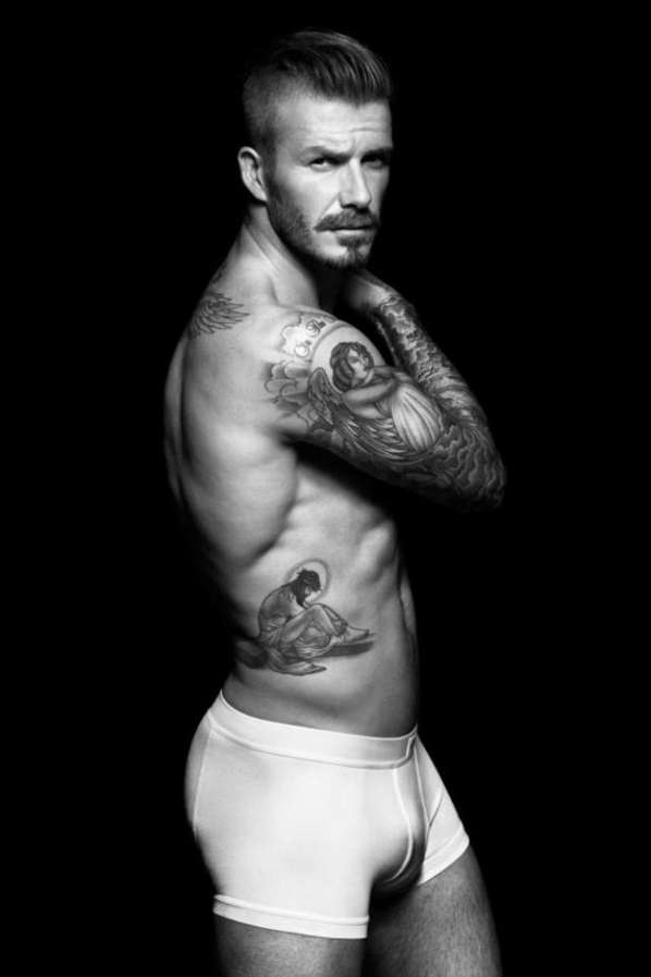David Beckham Underwear Ads