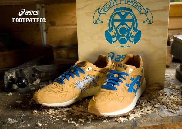 FOOT PATROL COLLABORATE WITH ASICS
