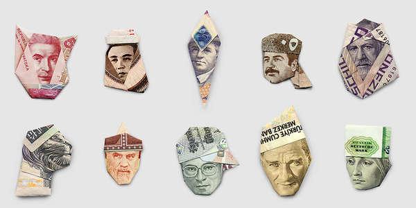 Monetary Chapeau Origami