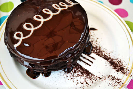 Chocolate Swirled Breakfast Cakes
