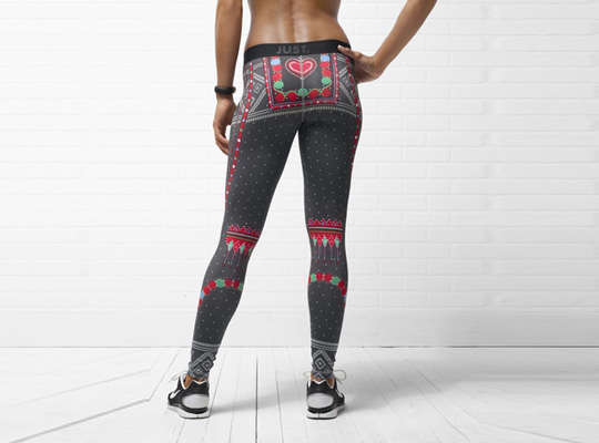 Christmas Athletic Tights