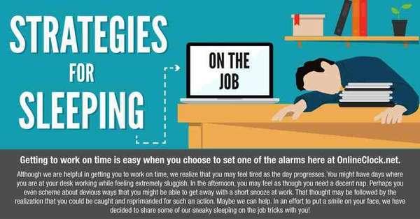 Workplace Sleeping Strategies
