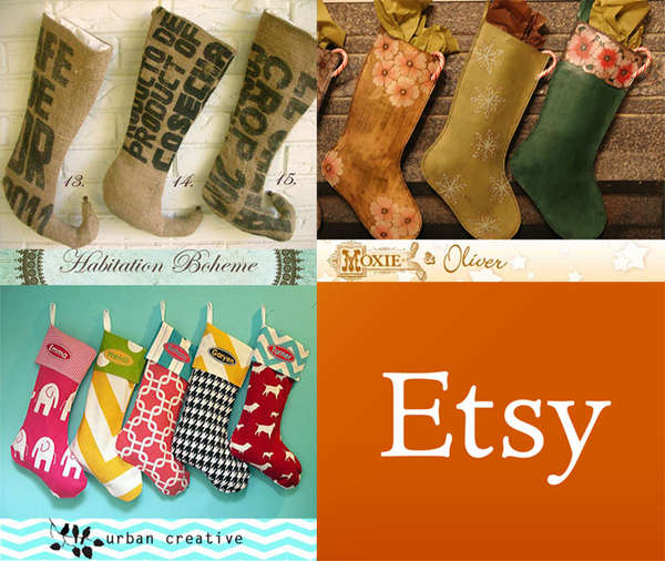 Customizable Christmas Stockings