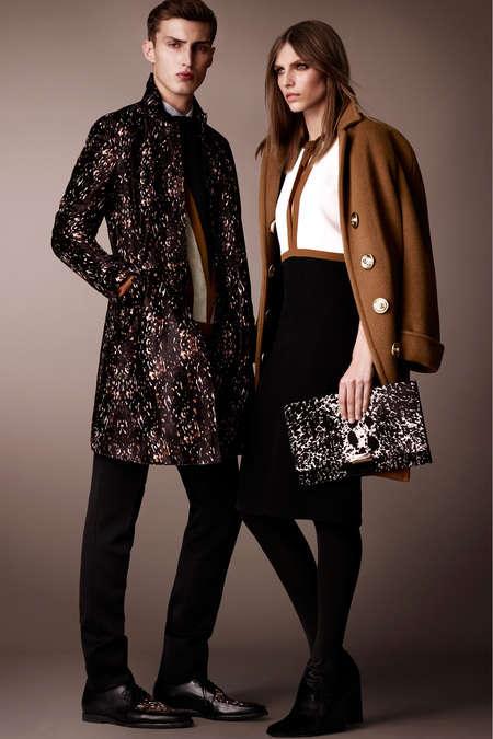 Geometric Monochrome Fashions
