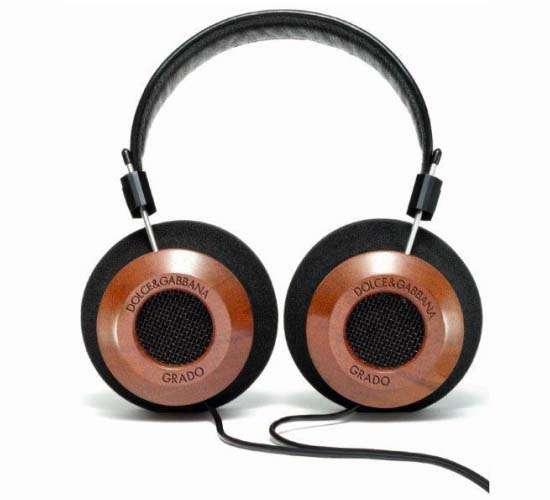 Designer Mahogany Headphones
