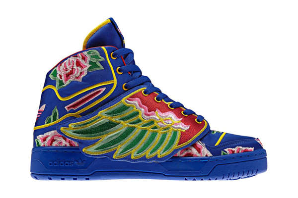 Floral Winged Sneakers