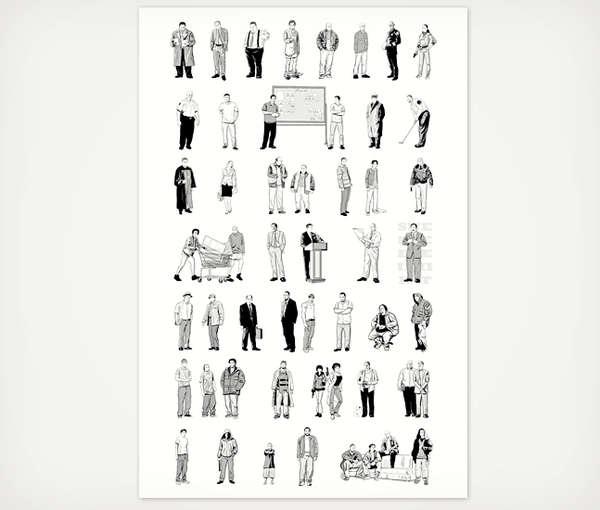 Popular Criminal Character Posters