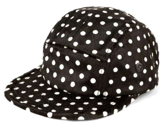 Patterned Pony Caps