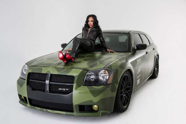 Colorful Camouflage Car Covers