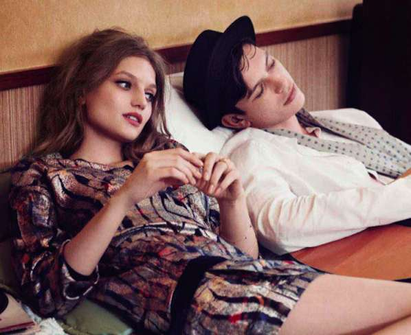 Retro Relationship Editorials
