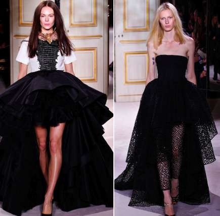 Dramatic Monochrome Couture