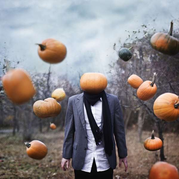 Eerie Headless Portraits