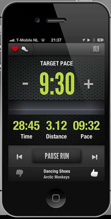 Sporty Smartphone Synchronization